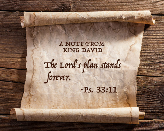 THE LORD'S COUNSEL STANDS FOREVER