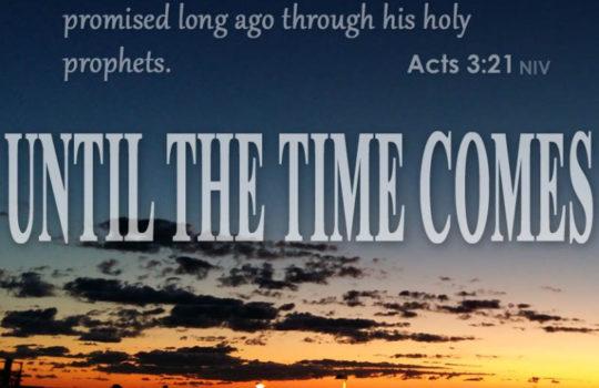 TUHAN YESUS MAU MENGUNJUNGI DAN MEMULIHKAN UMAT-NYA