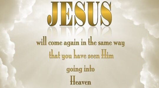 LIMA KEBENARAN TENTANG KENAIKAN TUHAN YESUS KE SORGA